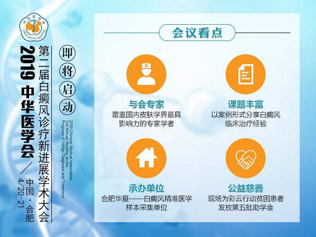 合肥华夏白癜风连续第二届承办白癜风高峰论坛